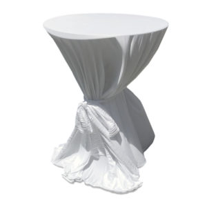 Bistro white Tablecloth