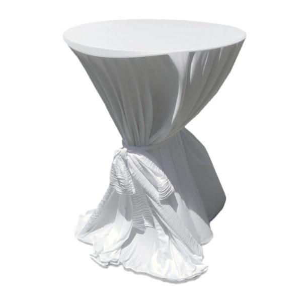 Bistro white Tablecloth