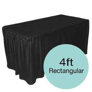 4 Feet Tablecloths