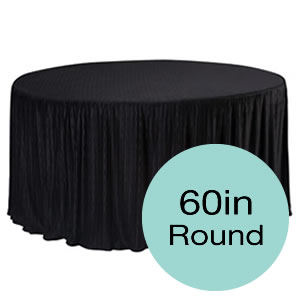 60 Inch Round Tablecloths