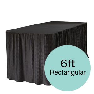 6 Feet Tablecloths