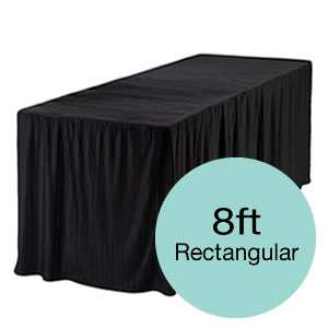 8 Foot Tablecloths